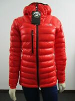 Womens The North Face TNF Proprius L3 Down Hoodie Hooded Insulated Jacket Fiery