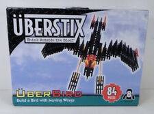 UberStix Uberbird Build a Bird Moving Wings New in Open Box Building Sticks 84pc