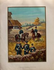 USA Army fanteria Uniform correrete tschako fucile British-American-era 1812