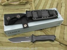Gerber G1121 Prodigy Serrated Combat Tactical Knife with MOLLE Sheath New