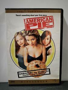 American Pie (1999 Unrated Collector's Edition DVD) Biggs Reid Lyonne Suvari