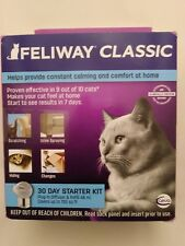 Feliway Classic 30 Day Starter Kit Plug In Diffuser & Refill 48 ml Exp 2020