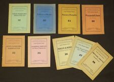 Masonry Liturgical Manuals Mexico 1965 Collection 9 Imprints Freemasonry Liturgy