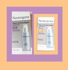 Neutrogena Rapid Wrinkle Repair Moisturizer, NIGHT & DAY (SPF30), 2 boxes