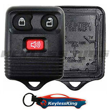 Replacement Remote Key Fob Shell Pad Case for 2001-2014 Ford Escape