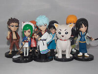 Gintama Japanese Anime Figures 6-8cm Boxed CHN Ver.