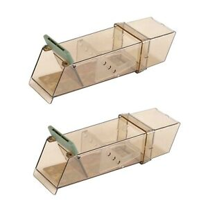 2 x Pest-Stop Systems Trip Trap Humane Live Catch Mouse Traps PRCPSTTB<