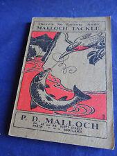 A SCARCE VINTAGE P D MALLOCH ADVERTISING CATALOGUE SEASON 1933/34