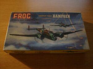 L214 *RARE* 1959 FROG Model Kit 397P - Handley Page Hampden 1:99
