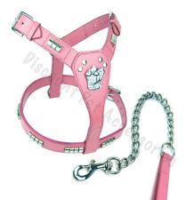 Artículos de color principal rosa m para perros