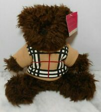 "Burberry Barrington 11"" Sweater Parfum Teddy Bear Plush EUC"