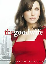 The Good Wife : Season 5 (DVD, 2014, 6-Disc Set)