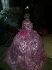 27in Mis Quince Anos Umbrella Doll By Kinnex