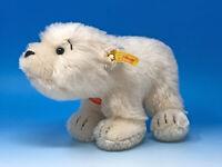 Steiff Eisbär LARS stehend, 22 cm, Mohair, KSF, Nr. 354274, neuwertig unbespielt