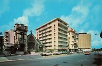 Postcard Miramar Hotel Row San Juan Puerto Rico