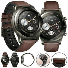 Luxury Leather Silicone Band Strap For Huawei Watch GT Active Elegant 2 Classic