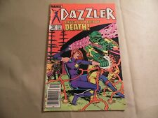 Dazzler #39 (Marvel 1985) Newsstand Variant / Free Domestic Shipping