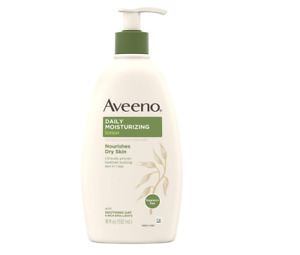 Aveeno  Moisturizing Body Lotion and Rich Emollients to Nourish Dry Skin