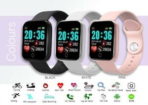 Smart Watch Bluetooth Heart Rate Blood Pressure Sport Fitness Tracker Pedometer