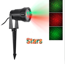 Christmas Laser Light Projector Red Green Weatherproof
