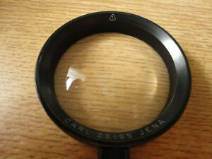 Vintage CARL ZEISS JENA Magnifying Glass Loupe Magnifier