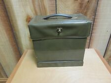 Vinyl Box, 45's Holder, with Handle, Very Good Condition