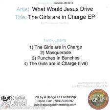 WHAT WOULD JESUS DRIVE - The Girls Are In Charge EP (UK 4 Tk DJ CD Single)