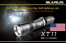 NEW Klarus XT11 XM-L 820 Lumen 18650 CR123 Dual Switch Tactical Flashlight