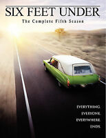 Six Feet Under: The Complete Fifth Season (DVD, 2006, 5-Disc Set)