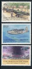 1992 Cocos Island 50th Anniversary of The End of WWII - MUH Complete Set