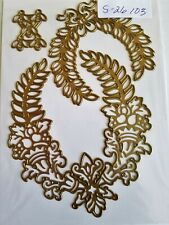 Anna Griffin Laurel Wreath Cut and Emboss Die Card Making 3 pcs