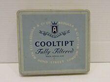 Vintage CIGARETTE Tin Made IN London COOLTIPT   - Ref P780