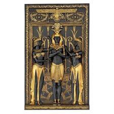 "16"" Art Deco Egyptian Revival Pharaoh Relief Sculpture Replica Reproduction"