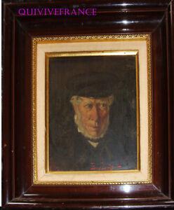 PORTRAIT DE MARIN signé Eugénie Brégaint - fin XIXe