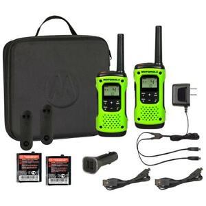 Motorola T605 Talkabout Waterproof 35 mile 2-way Radios 2-pack