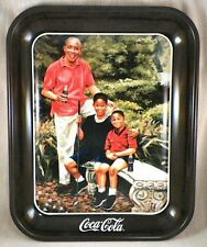 """Retired Coca-Cola Tray """" Tee Off """""""