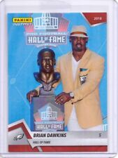 2018 Panini Instant #8 Brian Dawkins Hall of Fame Football Card - Only 86 made!
