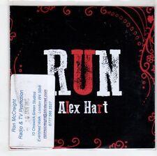 (GN196) Alex Hart, Run - 2015 DJ CD