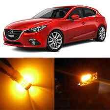 Alla Lighting Rear Turn Signal Light 7440NA Amber 12V LED Bulb for Mazda 3 Sport