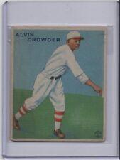 """1933 GOUDEY #122 ALVIN CROWDER """"GENERAL"""" NO CREASES ORIGINAL"""