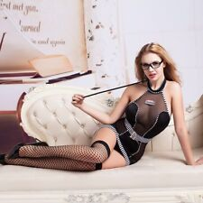 Sexy Lady Lingerie Teacher Uniform Role Play Outfit Costume Cosplay Temptation