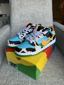 NIKE SB Dunk Low Ben and Jerry's CHUNKY DUNKY Size 10.5