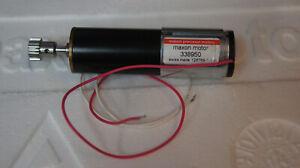 Combination Maxon Gearhead GP22 reduction 231:1 with Re-max24 Motor 11 Watt