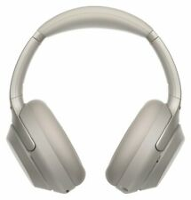 Sony WH-1000XM3 Adjustable On-Ear Wireless Headphones - Silver