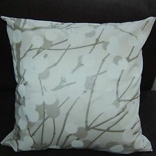 "Handmade Marimekko White Lumimarja Cushion Cover, Case 18"" Finland Christmas"