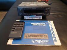 Pioneer Kex-m 830 RDS mit Anleitung und Fernbedienung guter Zustand