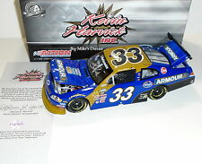 2010 Signed Kevin Harvick #33 Armour Foods 1/24 Scale Autographed Diecast