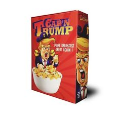 Cap'n Trump Cereal | Donald Trump Election 2016 Collectible Cereal Box