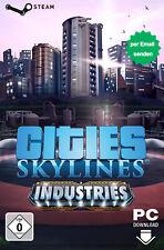 Cities: Skylines - Industries [DLC Key] - PC STEAM Download Code - DE/Weltweit