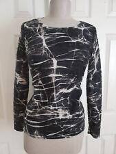 Vera Wang Long Sleeve T Shirt Top Size Xs  Black  Simply Vera        B20